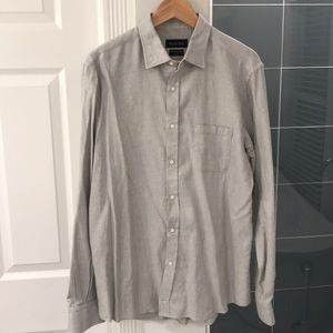 Massimo Dutti Casual Button Down Shirt Large